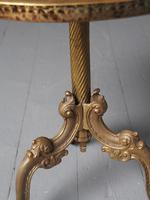 Cast Brass Occasional Table (7 of 9)