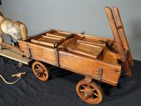 Attractive Late 19th Century German Horse & Cart (4 of 6)