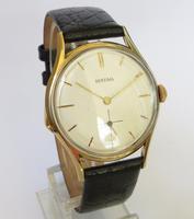 Gents 9ct Gold Bentima Wrist Watch, 1960 (2 of 5)