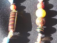 Vintage handmade  Murano Glass Bead necklace (8 of 12)