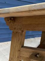 Scandinavian Style Bleached Oak Farmhouse Table (5 of 14)
