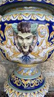 Montagnon French Majolica Jardiniere on Stand (6 of 16)