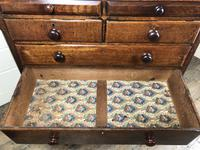 Antique Welsh Oak & Mahogany Chest of Drawers (3 of 15)