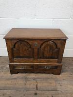 18th Century Style Welsh Oak Coffer (2 of 13)