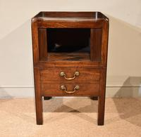 Late 18th Century Mahogany Bedside Cabinet (2 of 7)
