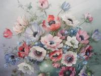 Watercolour Vibrant Flowers Listed Artist Jack Carter (10 of 10)