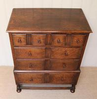Solid Oak Chest of Drawers (6 of 10)