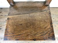 Pair of Welsh Oak Bar Back Farmhouse Chairs (14 of 15)