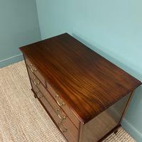 Quality Hepplewhite Design Mahogany Antique Chest of Drawers (5 of 6)