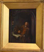 Pair of Oil Paintings after Gerrit Dou (7 of 9)