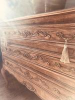 French Antique Drawers / Rustic Chest of Drawers / Provincial Chest of Drawers / Sideboard (6 of 8)