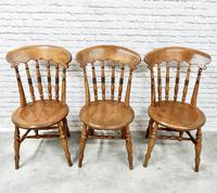 Set of 6 Penny Seat Windsor Kitchen / Dining Chairs (6 of 8)