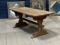 Smaller French Farmhouse Bleached Oak Dining Table (16 of 17)