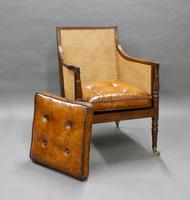 Georgian Mahogany Bergere Chair (4 of 7)