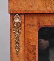19th Century Walnut & Marquetry Pier Cabinet (11 of 11)