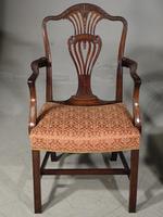 Good Set of 8 '6+2' Mahogany Framed Chairs by Marsh, Jones & Cribb (7 of 9)