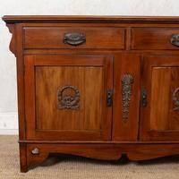 Dresser Base Arts & Crafts Walnut Sideboard 19th Century (4 of 11)