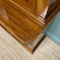 Quality Victorian Mahogany Glazed Antique Bookcase on Cupboard (6 of 9)