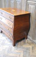 Dutch mahogany bombe commode / chest of drawers (3 of 8)
