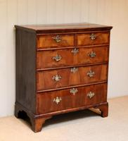 Mid 18th Century Walnut & Pine Chest of Drawers (8 of 10)