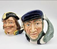Four Small Royal Doulton Toby Jugs (3 of 16)