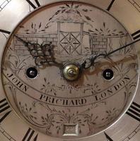 Exceptional 18th Century Verge Bracket Clock – John Pritchard of London (5 of 7)
