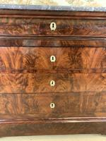 19th Century Marble Top Commode (4 of 8)