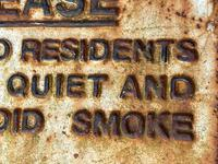 Large Heavy Rusted Cast Iron Railway Plaque Sign Train Notice (12 of 25)