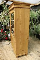 Fantastic Old Early 20th Century Pine/ Glazed Cupboard / Display Cabinet (4 of 9)