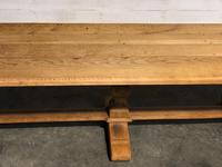 Long French Farmhouse Table with Extensions (11 of 24)