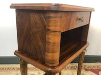 Vintage French Mahogany Cabinets Bedside Tables (7 of 14)