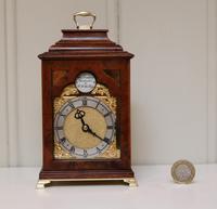 Miniature Walnut Bracket Clock by Clockmaker ro the King (11 of 11)