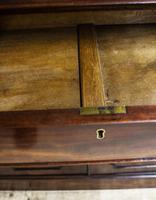 Antique 19th Century Mahogany Breakfront Bookcase (8 of 12)
