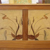 Art Nouveau Matching Pair of Twin Single French Beds (4 of 10)