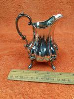 Antique Victorian Silver Plate Cream Jug c.1880 (10 of 10)