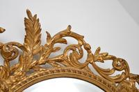 Large Mid Century French Carved Giltwood Mirror (5 of 10)