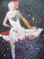 Watercolour Prima Donna Ballerina Signed (11 of 12)