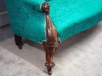 Victorian Mahogany Double Ended Sofa (5 of 9)