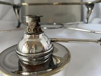 Edwardian Walker & Hall Silver Plated Hot Plate (8 of 10)