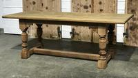 French Oak Refectory Dining Table