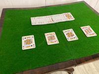 Regency Rosewood Card Table Games (4 of 8)