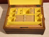 Regency Tonbridge Ware Castle Rosewood Sewing Box (4 of 8)