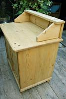 A Rare, Old Pine Sideboard/ Cupboard/ Desk/ Baby Changing Unit (6 of 11)