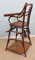 Antique Metamorphic Childs High Chair (10 of 10)