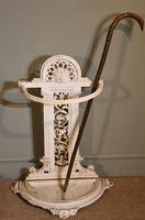 Cast Iron Stick Stand Stamped Railway Society (2 of 4)