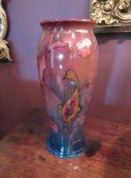 Rare Moorcroft Flambe Glazed Fishes Vase (6 of 9)