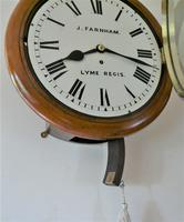 """Excellent 12"""" English Fusee Dial Timepiece by James Farnham 1860 (2 of 7)"""