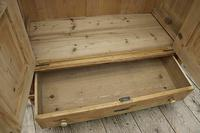 Fabulous Old Pine 'Knock Down' Glazed Display Cabinet (9 of 10)