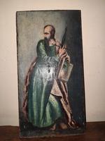 17th Century Oil Painting of Saint Paul