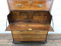 Early 19th Century Oak Secretaire Tallboy Chest on Chest (5 of 17)